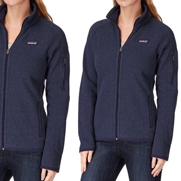 NWT Patagonia Navy Better Sweater Fleece Jacket